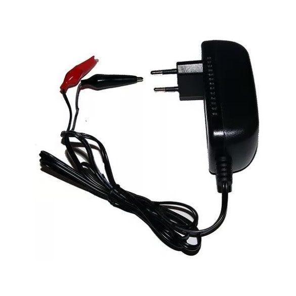 12V 0,5A zselés akkumulátor töltő