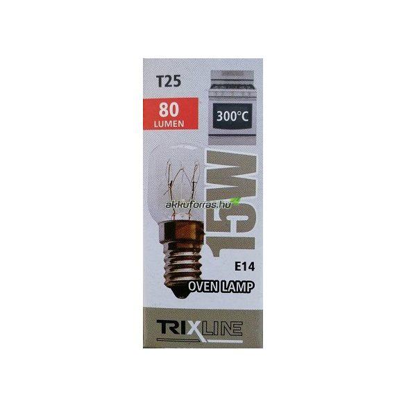 Trixline 15W E14 sütő izzó