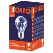 25W E27 SOLEO hagyományos izzó