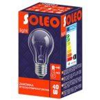 40W E27 SOLEO hagyományos izzó