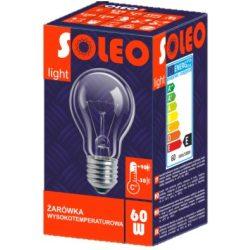 60W E27 SOLEO hagyományos izzó
