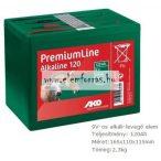 AL-KO 9V 120Ah villanypásztor levegő-alkáli elem