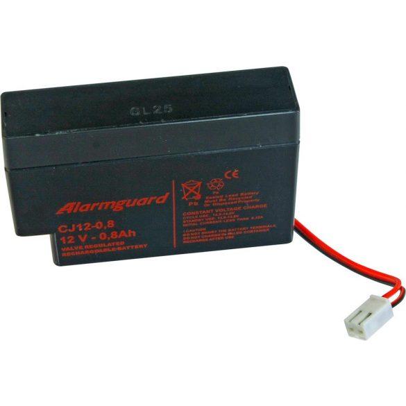 Alarmguard CJ12-0.8 12V 0,8Ah zselés akkumulátor