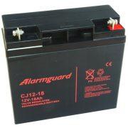 12V 18Ah Alarmguard CJ12-18 zselés akkumulátor