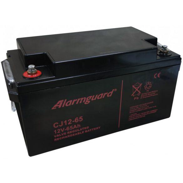Alarmguard CJ12-65 12V 65Ah zselés akkumulátor