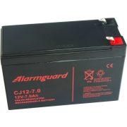 12V 7Ah Alarmguard CJ12-7 zselés akkumulátor