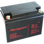 6V 20Ah Alarmguard CJ6-20 zselés akkumulátor