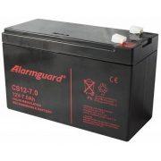 12V 7Ah Alarmguard CS12-7 zselés akkumulátor