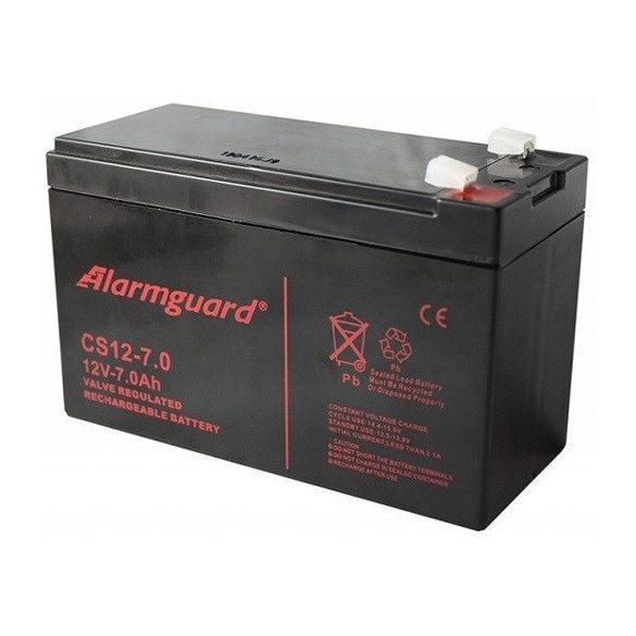 Alarmguard CS12-7 12V 7Ah zselés akkumulátor