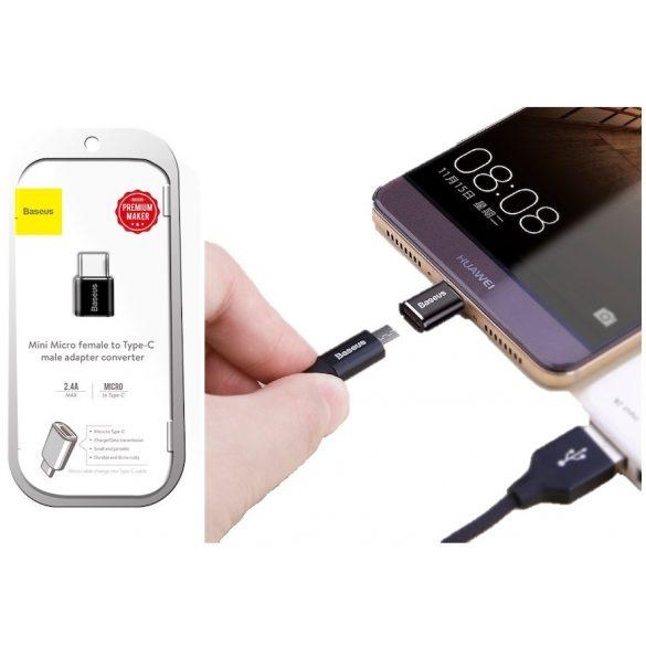 Baseus Type-C-ről USB-re átalakító adapter 2,4A