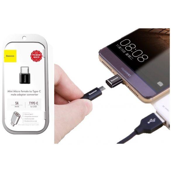 Baseus Type-C-ről USB-re átalakító adapter 5A