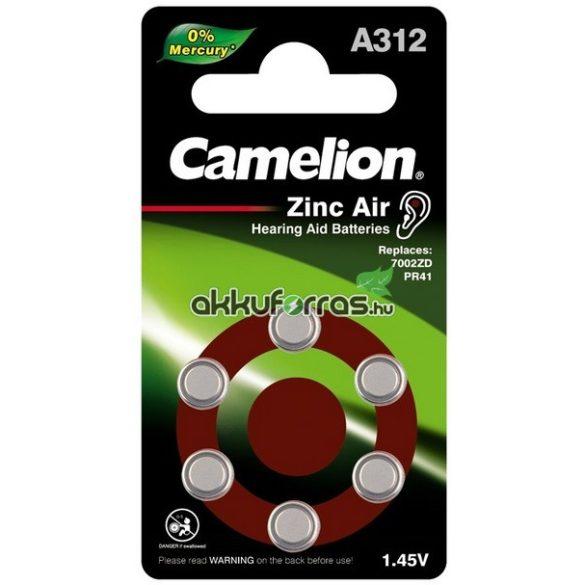 Camelion A312 (PR312,DA312) hallókészülék elem