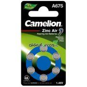 Camelion A675 (PR675,DA675) hallókészülék elem