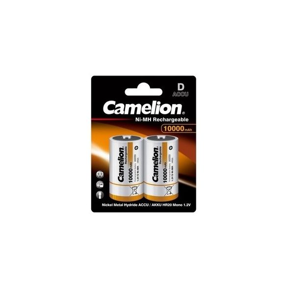 Camelion D 10000mAh HR20 akkumulátor