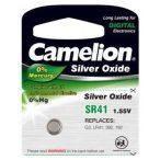 Camelion SR41 392 G3 192 LR41 AG3 ezüst-oxid gombelem