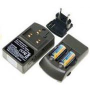 CR123 16340 akkumulátor töltő szett