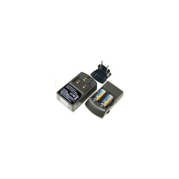 RCR123 16340 akkumulátor töltő szett