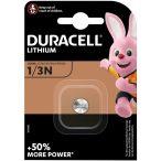 Duracell DL1/3N, CR1/3N, 2L76, 5018LC, K58L,CR11108 3V Lithium elem