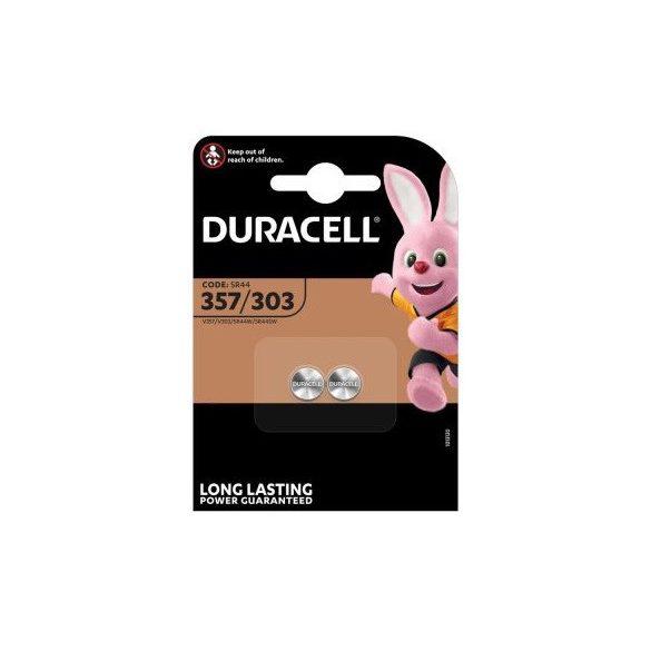 Duracell 357 SR44W 303 ezüst-oxid gombelem