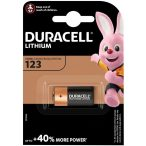 Duracell 123 DL123 CR123 elem
