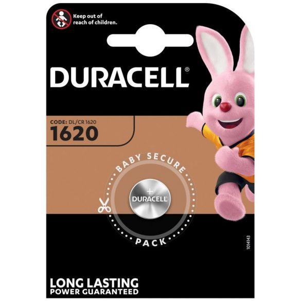 Duracell DL1620 CR1620 Lithium gombelem
