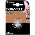 Duracell 2430 DL2430 CR2430 3V Lithium gombelem
