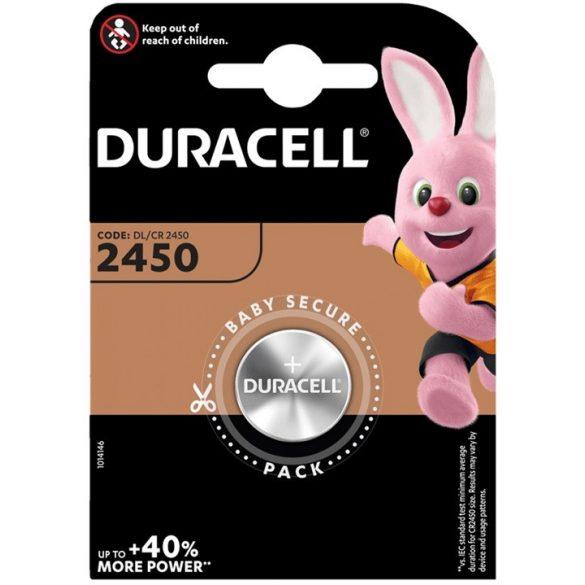 Duracell 2450 DL2450 CR2450 Lithium gombelem