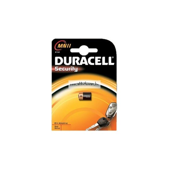 Duracell MN11, A11,E11A,MN11 6v alkáli tartós elem