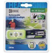 EMOS P3534 5W CREE szenzoros tölthető LED fejlámpa