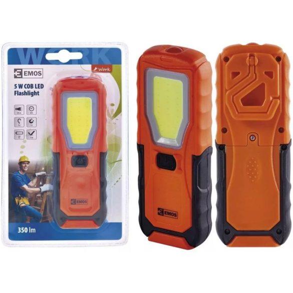 EMOS P4110 5W COB LED + 1 Led szerelőlámpa