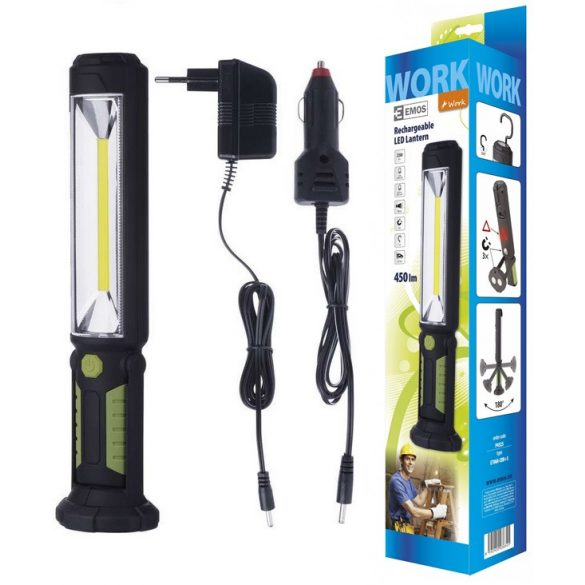 EMOS P4525 5W COB LED akkumulátoros LED lámpa
