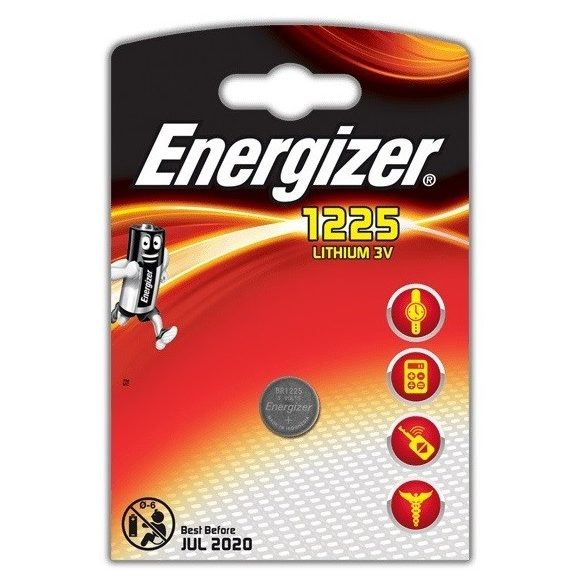 Energizer 1225 3V Lithium gombelem