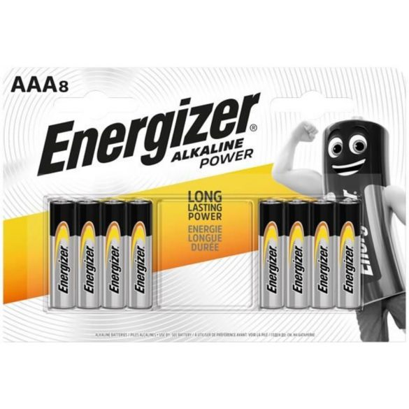 Energizer Alkaline Power AAA LR03 tartós mikro elem