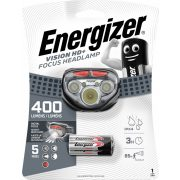 Energizer VISION HD+ FOCUS HEADLAMP 400lm, 3XAAA LED fejlámpa
