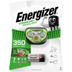 Energizer VISION HD+ HEADLAMP 350 lumen 3XAAA 5 LED fejlámpa
