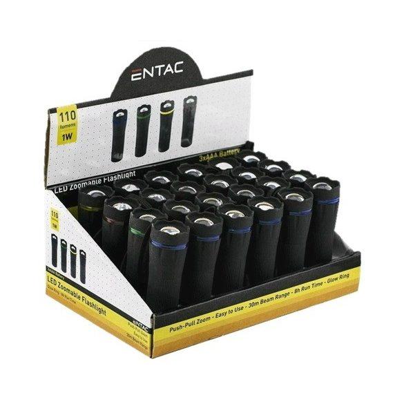 Entac 1W LED fókuszálható műanyag rúdlámpa
