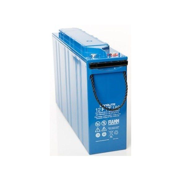 FIAMM 12FIT180 12V 180Ah Front terminal ipari távközléstechnikai zselés akkumulátor