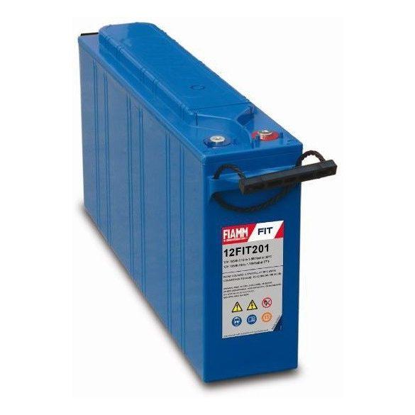 FIAMM 12FIT201 12V 195Ah Front terminal ipari távközléstechnikai zselés akkumulátor