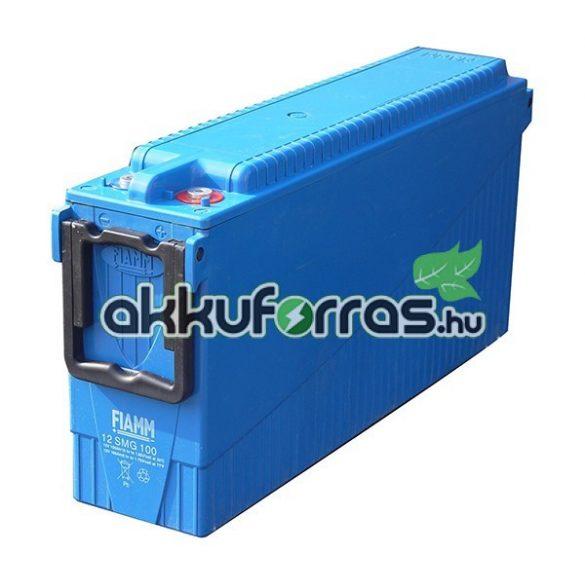 12V 130Ah FIAMM 12SMG130 Front terminal páncéllemezes ciklikus zselés akkumulátor