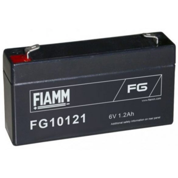FIAMM FG10121 6V 1,2Ah zselés akkumulátor