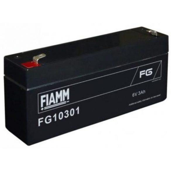 FIAMM FG10301 6V 3Ah zselés akkumulátor