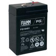 6V 4,5Ah FIAMM FG10451 zselés akkumulátor