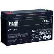 6V 12Ah FIAMM FG11201 zselés akkumulátor