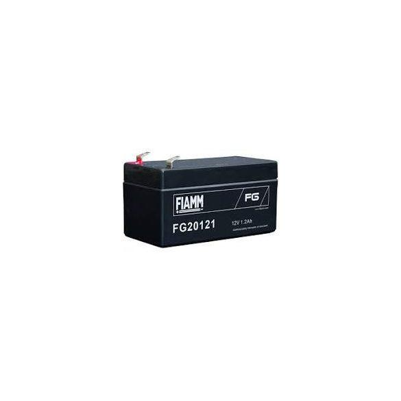 FIAMM FG20121 12V 1,2Ah zselés akkumulátor