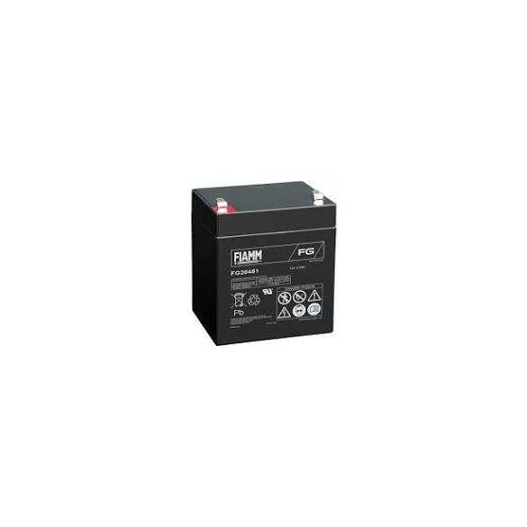 12V 4,5Ah FIAMM FG20451 zselés akkumulátor