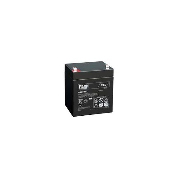 FIAMM FG20451 12V 4,5Ah zselés akkumulátor