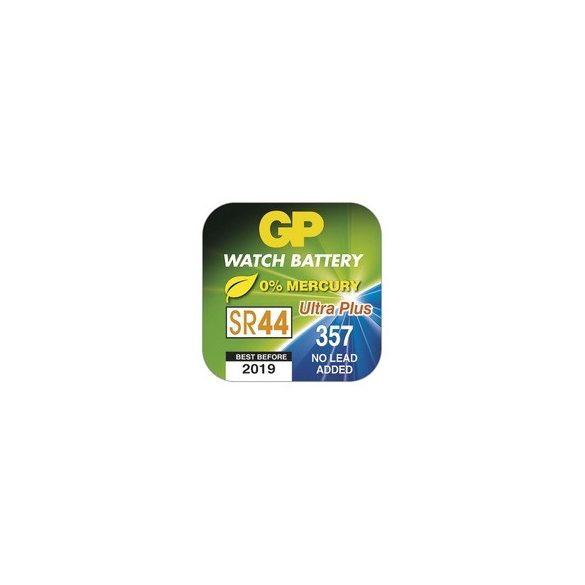 GP 357 SR44 ezüst-oxid gombelem