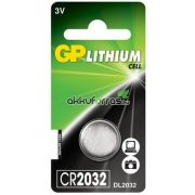 GP CR2032, DL2032 lithium gombelem