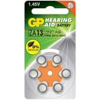 GP ZA13 (PR13,DA13) hallókészülék elem