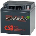 12V 40Ah GP12400 12V zárt gondozásmentes zselés akkumulátor
